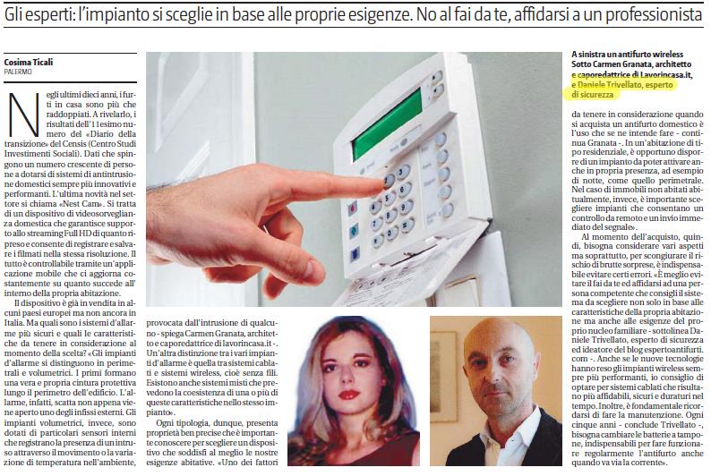 Giornale di Sicilia - articolo